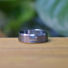 Replacement Decorative Beauty Ring for Dvarw 22 MTL RTA 24mm - Silver