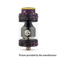 Authentic Dovpo Blotto 25.5mm RTA Rebuildable Tank Atomizer 6ml - Pink Splatter