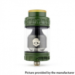 Authentic Dovpo Blotto 25.5mm RTA Rebuildable Tank Atomizer 6ml - Green