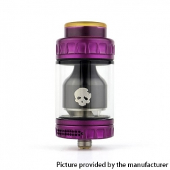 Authentic Dovpo Blotto 25.5mm RTA Rebuildable Tank Atomizer 6ml - Purple