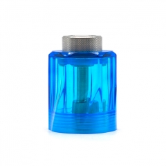 (Ships from Germany)ULTON Diamond Cap for Fev v4/4.5 RTA 3.5ml Short Version - Blue