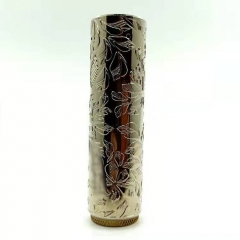 Match Stick 24mm Hybrid Mechanical Mod 18650 - Silver