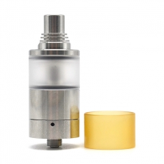 Vazzling Sine Style MTL 22mm RTA Rebuildable Tank Atomizer 4.2ml - Silver