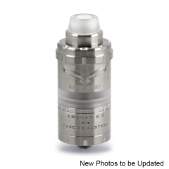 Vazzling Kronos 2S 23mm Style RTA Rebuildable Tank Atomizer 4ml - Silver
