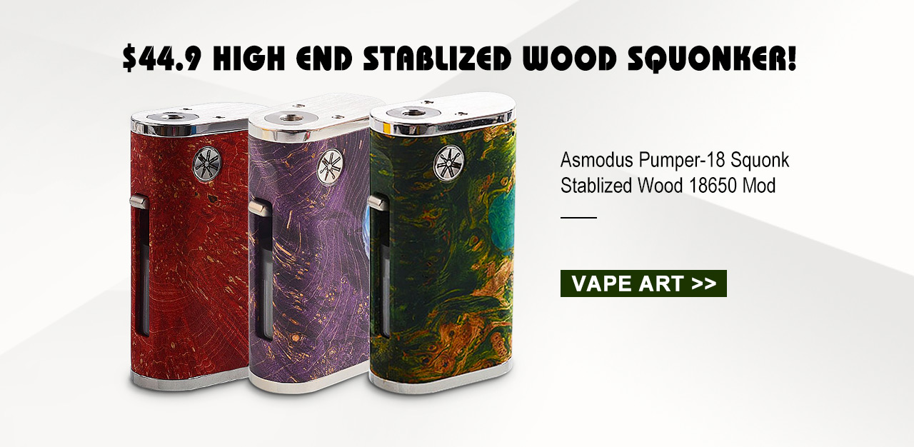 $44.9 High End Stablized Wood Squonker!