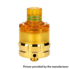 Authentic asMODus ANANI 24mm MTL RTA Rebuildable Tank Atomizer 5.3ml - Gold + Brown