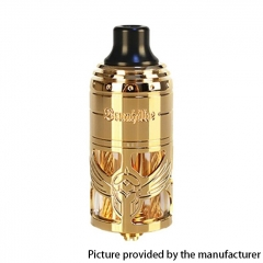 Authentic Brunhilde 23mm MTL RTA Rebuildable Tank Atomizer 5ml - Gold