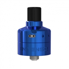 Authentic Damn Vape Intense DL / MTL 24mm RDA Rebuildable Dripping Vape Atomizer w/ BF Pin - Blue
