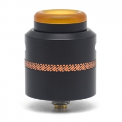 Authentic Acevape Pasopati 25mm RDA Rebuildable Dripping Atomizer - Black