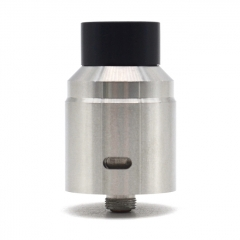X1 Style Competition 24mm RDA Rebuildable Dripping Atomizer - Silver