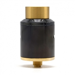 Nova Style 24mm RDA Rebuildable Dripping Atomizer - Black