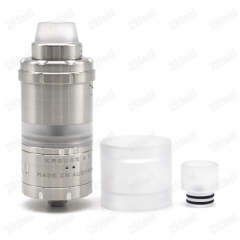 (Ships from Germany)ULTON Kronos 2S 23mm Style 316SS RTA Rebuildable Tank Atomizer 4ml - Silver