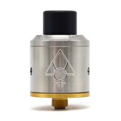 Goon Style 24mm RDA Rebuildable Dripping Atomizer - Silver