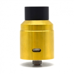 X1 Style Competition 24mm RDA Rebuildable Dripping Atomizer - Gold