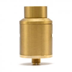 Nova Style 24mm RDA Rebuildable Dripping Atomizer - Gold