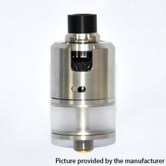 Mojia BF-99 Cube 22mm MTL&DTL RDTA Rebuildable Dripping Tank Atomizer 2.5ml - Silver