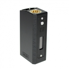 SXK SB E8 Mnraker Style 70W SEVO 70W Sliding VW Box Vape Mod Compatible with 22mm Diameter Atomizer - Black