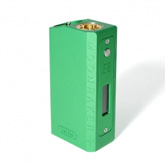 SXK SB E8 Mnraker Style 70W SEVO 70W Sliding VW Box Vape Mod Compatible with 22mm Diameter Atomizer - Green