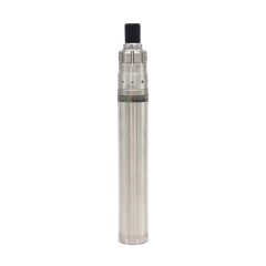 Vazzling 900 Stylus Style 18mm Mechanical Mod (2 Pieces) 16500 w/900 Style RDA Kit - Silver