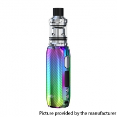 Authentic Eleaf iStick Rim C 80W 18650 TC VW Box Vape Mod Kit with Melo 5 Tank Atomizer 4ml - Rainbow