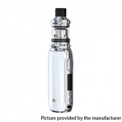 Authentic Eleaf iStick Rim C 80W 18650 TC VW Box Vape Mod Kit with Melo 5 Tank Atomizer 4ml - White