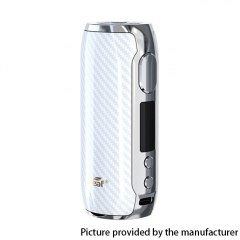 Authentic Eleaf iStick Rim C 80W 18650 TC VW Box Vape Mod - White