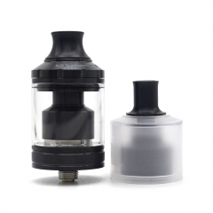 (Ships from Germany)ULTON Gata Style 24mm 2-in-1 MTL&DTL RTA Rebuildable Tank Atomizer 2ml/4ml(1:1) - Black