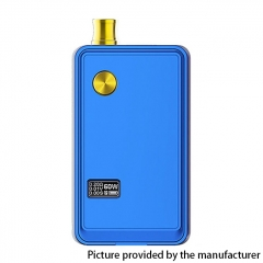 Authentic ThinkVape ZETA AIO 60W VW Variable Wattage Box Mod Pod System Starter 18650 Kit 3ml - Blue