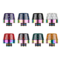 Reewape Replacement Resin 510 Drip Tip AS287SS - Random Color