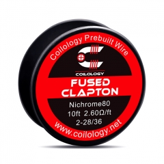 Authentic Coilology NI80 Fused Clapton Heating Wire 2*28/36 AWG 2.6ohm - 10 Feet