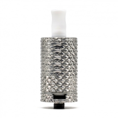 Vazzling Dvarw v2 MTL 22mm Style Knurling Version + Auguse Style Diamond Cap (Limited) - Silver