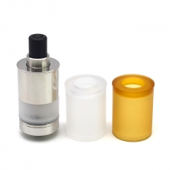 (Ships from Germany)Authentic Auguse MTL 22mm RTA Rebuildable Tank Atomizer Kit 4ml - Silver