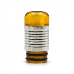 (Ships from Germany)YDDZ 510 Replacement Drip Tip for RDA / RTA / RDTA / Sub-Ohm Tank Vape Atomizer #B- Translucent