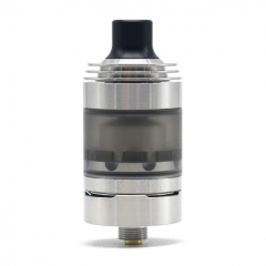 (Ships from Germany)ULTON Hussar Style RTA V1.5 316SS 22mm Rebuildable Tank Vape Atomizer - Silver