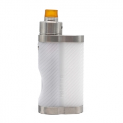 ULTON Hellfire Squonk Box w/ Shift Batch 2 Style 316SS 22mm RDA w/ Extra Transparent Cap Kit - Silver