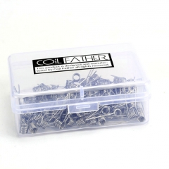 (Ships from Germany)Coil Father Pre-Made A1 Coils 24GA 0.3ohm /100pcs
