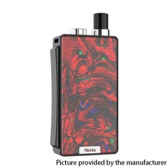 Authentic VOZOL Ark 30W 1000mAh VW Mod Pod System Vape Starter Kit 3ml/0.6ohm/1.4ohm - Abstract Red
