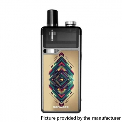 Authentic Sanvape Q8 Pro 40W 1620mAh MTL / DTL VV VW Mod Pod System Vape Starter Kit 4.5ml/ .04ohm/1.2ohm - Flower