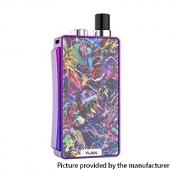 Authentic VOZOL Ark 30W 1000mAh VW Mod Pod System Vape Starter Kit 3ml/0.6ohm/1.4ohm - Dazzling Purple