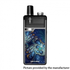 Authentic Sanvape Q8 Pro 40W 1620mAh MTL / DTL VV VW Mod Pod System Vape Starter Kit 4.5ml/ .04ohm/1.2ohm - Blue
