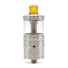 Authentic YDDZ V1 22mm RTA Rebuildable Tank Atomizer 4ml - Silver