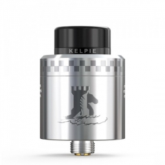 Authentic Ehpro Kelpie BF RDA Rebuildable Dripping Vape Atomizer w/ BF Pin 24mm - Silver