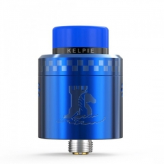 Authentic Ehpro Kelpie BF RDA Rebuildable Dripping Vape Atomizer w/ BF Pin 24mm - Blue