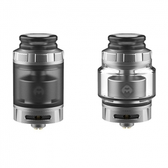 Authentic Hellvape Destiny 24mm RTA Rebuildable Tank Atomizer 4ml - Matte Silver + PCTG