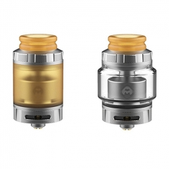 Authentic Hellvape Destiny 24mm RTA Rebuildable Tank Atomizer 4ml - Matte Silver + Ultem