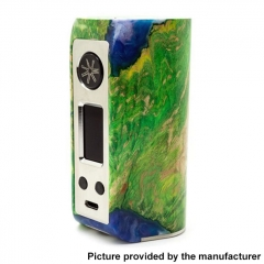 Authentic Asmodus Minikin Kodama 21700 180W Stablized Wood Resin TC VW Box Vape Mod - Green
