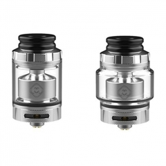 Authentic Hellvape Destiny 24mm RTA Rebuildable Tank Atomizer 4ml - Stainless Silver