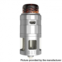 Authentic Vandy Vape Mato 24mm RDTA Rebuildable Dripping Tank Atomizer w/ BF Pin 5ml - SS