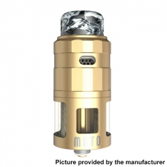 Authentic Vandy Vape Mato 24mm RDTA Rebuildable Dripping Tank Atomizer w/ BF Pin 5ml - Gold