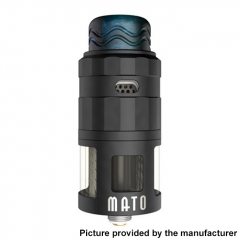 Authentic Vandy Vape Mato 24mm RDTA Rebuildable Dripping Tank Atomizer w/ BF Pin 5ml - Matte Black